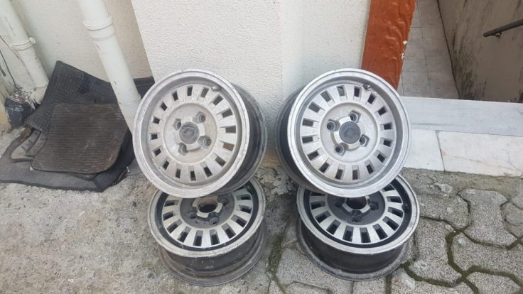 RENAULT SİPRİNG-BRAODWAY JANT TAKIMI 1200 TL 4X100    13